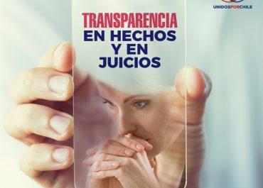 Transparencia en hechos y en juicios: el camino para restablecer la confianza